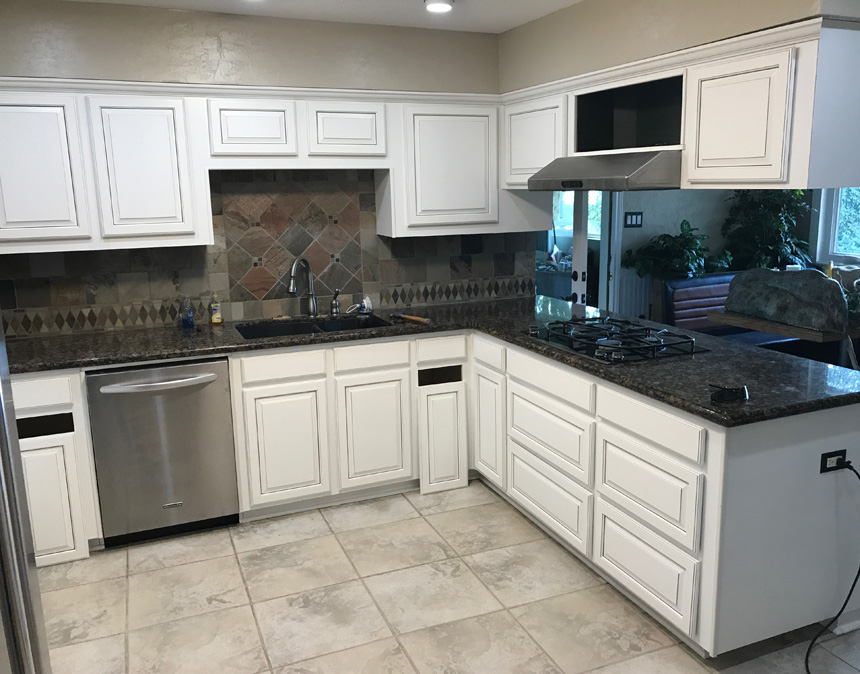 Voted 1 Kitchen Cabinet Refacing Company In Houston Area