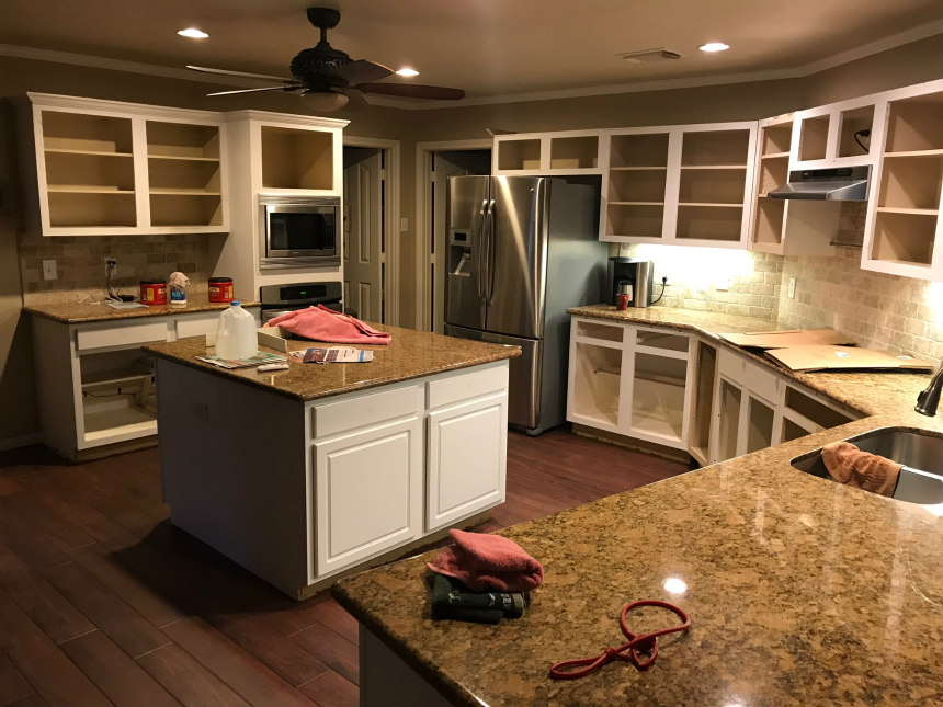 Before And After Kitchen Cabinet Refacing Photos